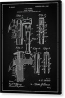 Vintage Claw Hammer Patent, 1907 - Acrylic Print from Wallasso - The Wall Art Superstore