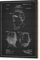 Vintage Eyeglass Spectacles Patent, 1904 - Wood Print from Wallasso - The Wall Art Superstore
