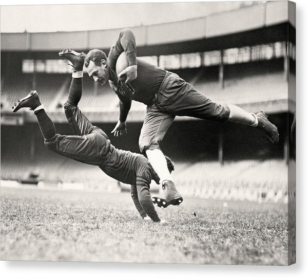 Vintage Football Players, 1935 - Canvas Print from Wallasso - The Wall Art Superstore