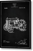 Vintage Henry Ford Tractor Patent, 1919 - Metal Print from Wallasso - The Wall Art Superstore