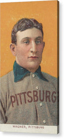 Vintage Honus Wagner Baseball Card, 1909 - Acrylic Print from Wallasso - The Wall Art Superstore