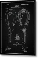 Vintage Horseshoe Patent, 1900 - Metal Print from Wallasso - The Wall Art Superstore