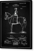 Vintage Hunting Skirt Patent, 1899 - Acrylic Print from Wallasso - The Wall Art Superstore