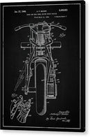 Vintage Indian Motorcycle Patent, 1948 - Acrylic Print from Wallasso - The Wall Art Superstore