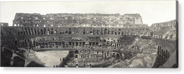 Vintage Interior View of Colosseum, 1909 - Acrylic Print from Wallasso - The Wall Art Superstore