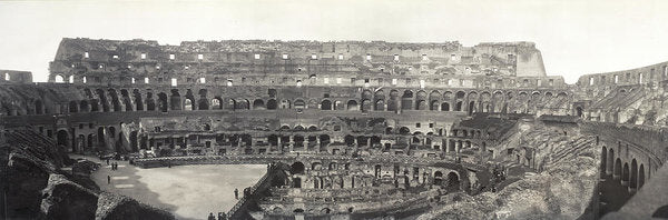 Vintage Interior View of Colosseum, 1909 - Art Print from Wallasso - The Wall Art Superstore
