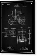 Vintage Motor Vehicle Patent, 1899 - Acrylic Print from Wallasso - The Wall Art Superstore