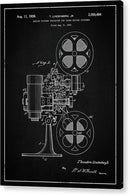 Vintage Movie Projector Patent, 1936 - Acrylic Print from Wallasso - The Wall Art Superstore