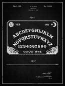 Vintage Ouija Board Patent, 1939 - Art Print from Wallasso - The Wall Art Superstore