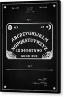 Vintage Ouija Board Patent, 1939 - Acrylic Print from Wallasso - The Wall Art Superstore