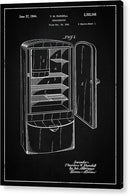 Vintage Refrigerator Patent, 1944 - Acrylic Print from Wallasso - The Wall Art Superstore