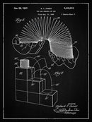 Vintage Slinky Patent, 1947 - Art Print from Wallasso - The Wall Art Superstore