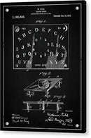 Vintage Talking Board Patent, 1915 - Acrylic Print from Wallasso - The Wall Art Superstore