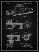 Vintage Telescope Patent, 1906 - Art Print from Wallasso - The Wall Art Superstore