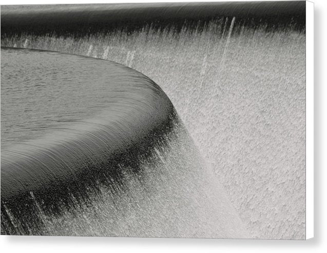 Waterfall Fountain - Canvas Print from Wallasso - The Wall Art Superstore