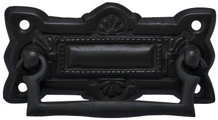 Hepplewhite Brass Drawer Pull - Oil Rubbed Bronze