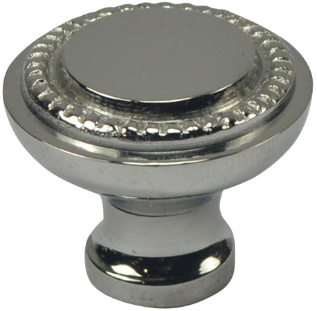Arts and Crafts and Craftsman Style Hardware - Solid Brass Round Knob (Antique Brass)