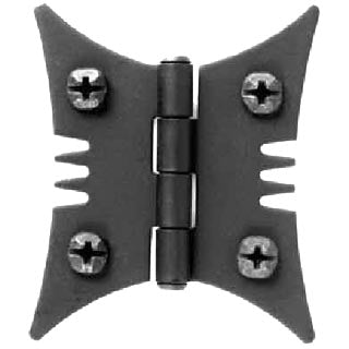Colonial Style Hardware - Iron Butterfly Hinge