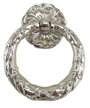 Floral Ring Pull Hepplewhite