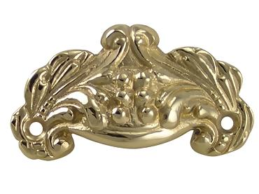 Polished Brass Victorian Cup Pull