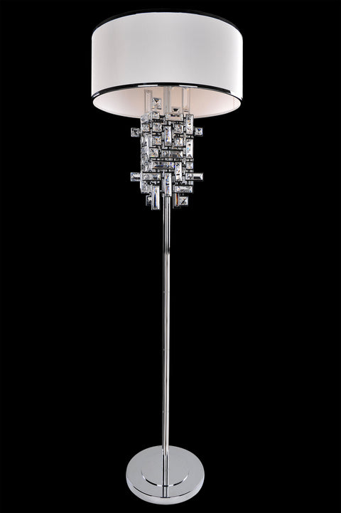 Vermeer 3 Light Floor Lamp