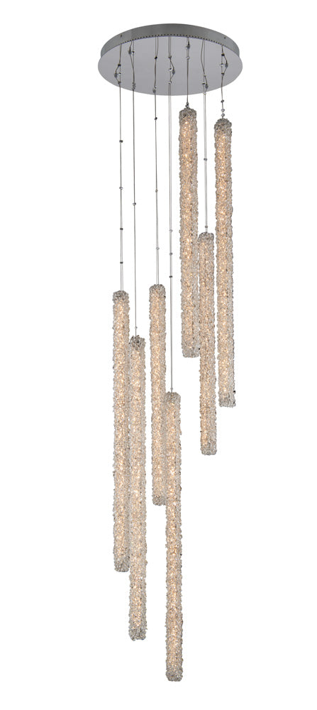 Lina 7 Column LED Foyer