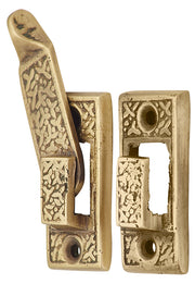 1 7/8 Inch Antique Drop Lock (Antique Brass Finish)
