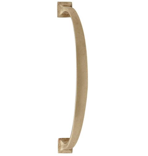 11 Inch Traditional Door Pull (Antique Brass Finish)