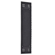 12 Inch Craftsman Style Push Plate (Oil Rubbed Bronze Finish)