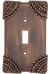 Roguery Ropes Wall Plate (Antique Copper Finish)