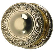 Solid Brass Laurel Style Door Knob Set