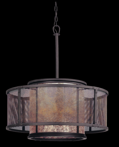 Copper Mountain 6 Light Pendant Dining