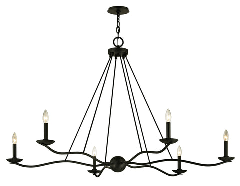 Sawyer 6 Light Chandelier