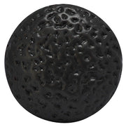1 1/4 Inch Solid Brass Hand-Hammered Round Cabinet Knob (Oil Rubbed Bronze)