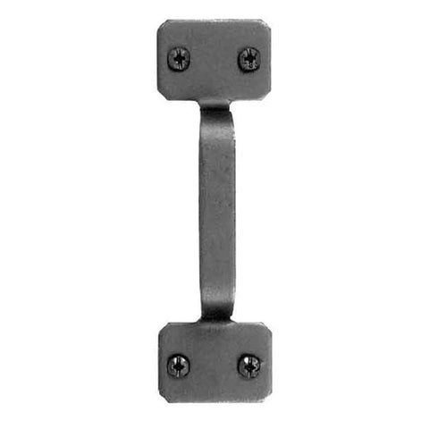 5 Inch Smooth Iron Classic Square Door Pull