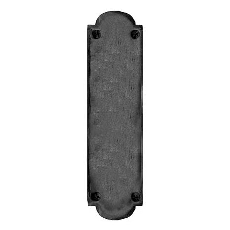 Oversized 15 3/4 Inch Iron Art Push Plate