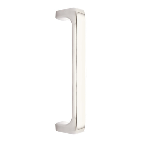 8 5/8 Inch Solid Brass Baden Pull (Satin Nickel Finish)