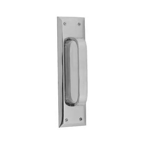 10 Inch Quaker Style Door Pull Plate (Polished Chrome Finish)