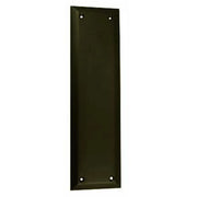 10 Inch Quaker Style Pull and Push Plate Set (Oil Rubbed Bronze Finish)