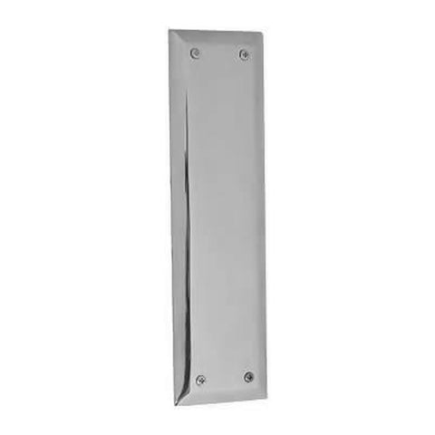 10 Inch Quaker Style Push Plate (Polished Chrome Finish)
