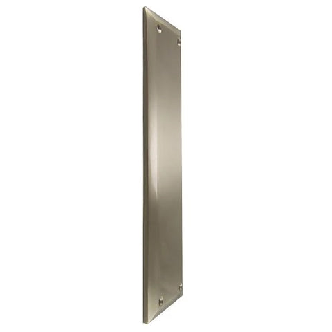 10 Inch Quaker Style Push Plate (Satin Nickel Finish)