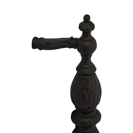 10 Inch Solid Brass Large Victorian Pull (Oil Rubbed Bronze Finish)