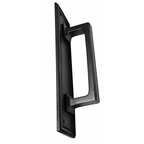 10 Inch Solid Brass Classic Style Pull Plate (Oil Rubbed Bronze Finish)