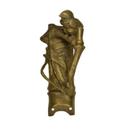 Solid Brass Bamboo and Wren Bird Pulls (Antique Brass Finish)