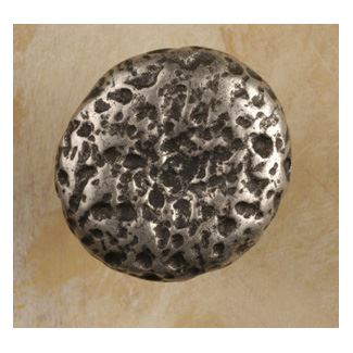 Anne at Home 1 1/2 Inch Rancho Cabinet Knob (Pewter with Terra Cotta Wash Finish)
