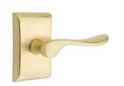 Emtek Solid Brass Luzern Lever With Neos Rosette (Several Finishes)