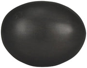 1 1/4 Inch Solid Brass Traditional Egg Shaped Knob (Oil Rubbed Bronze Finish)