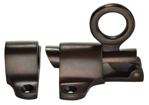 Solid Brass Traditional Transom Window Latch (Oil Rubbed Bronze Finish)