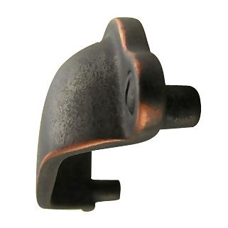 3 3/4 Inch Yukon Solid Brass Cup Pull (Weathered Bronze and Copper Finish)