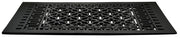 Black Iron Grille: 24 Inch x 12 Inch